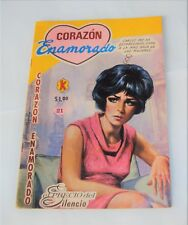 1969 Corazon Enamorado ~ No. 21 June 27, 1969 Spanish Romance Comic Book ?