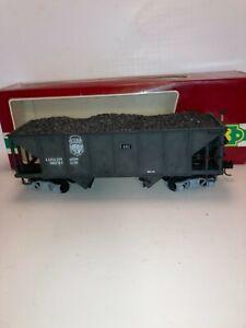 LGB G Scale #4076 East Broad Top Well Weathered Coal Hopper, Metal Wheels OB A
