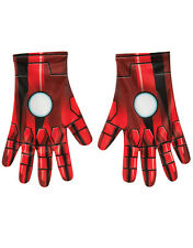 Iron Man Gloves, Mens Marvel Comics Costume Accessory
