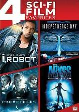 I ROBOT/INDEPENDENCE DAY/PROMETHEUS/THE ABYSS (DVD,2014,4 Dosc Set) NEW