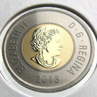 2013 Specimen Canada 2 Dollar Toonie Uncirculated Canadian Coin Two Dollar P613