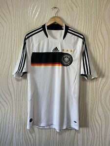 GERMANY 2008 2009 HOME FOOTBALL SHIRT SOCCER JERSEY ADIDAS 613200