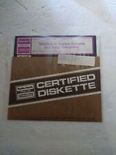 "Radio Shack TRS-80 TRSDOS - II Computer TRSDOS 8"" Diskette And Basic Interpreter"
