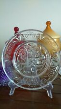 Orrefors limited edition NATIVITY glass plate Sweden