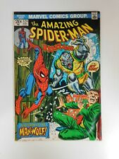 Amazing Spider-Man #124 1st appearance of Man-Wolf Fn+ condition