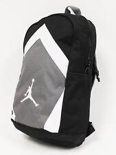 NWT NIKE JORDAN Men's Jumpman Diamond Black White Gray Laptop Large Backpack Bag