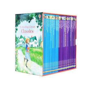 My Reading Library Classic 30 Books Children Pack Paperback Box Set By Usborne