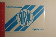 Aufkleber/Sticker: Siral Aluminium Systems (22011720)