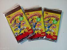 3 sacchetti per 2 di 36 carte da Collezione Penny LOONEY TUNES pazze Sport Arena