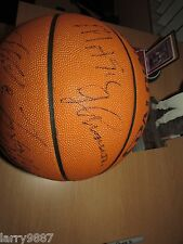 Basketball signed MAGIC JOHNSON, Mike Tyson, Arsenio Hall, Little Richard, E.Mur
