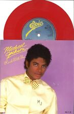 "#44 Michael Jackson Rock with you (7"" Red Vinyl UK - 1983)"