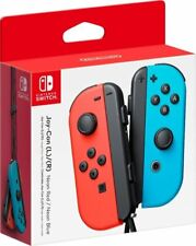 Nintendo - Joy-Con (L/R) Wireless Controllers for Nintendo Switch - Neon Red/Neo
