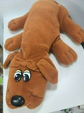 "Vintage 1985 Tonka Pound Puppies 18"" Brown Puppy Plush"