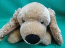 Tri Russ Lifelike Fuzzy Ears Blonde American Cocker Spaniel Puppy Dog Plush Toy