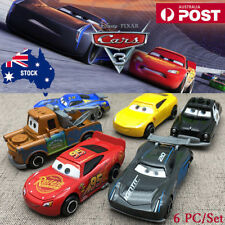 6X Disney Pixar Cars Lightning McQueen Diecast Kid Boy Toy Set Playset Vehicle