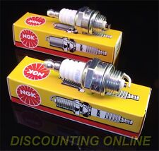 2 PACK NGK BPMR6A SPARK PLUGS  FITS KAWASAKI 92070-2108 DEERE TY6079 TY6081 TORO