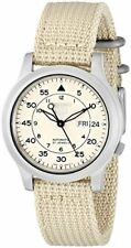 Seiko 5 automatique style militaire beige Men's Watch SNK803K2
