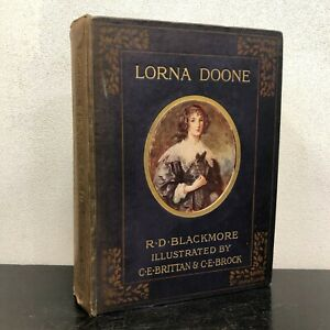 Lorna Doone by R.D. Blackmore Illustrated Sixth Edition 1873 Sampson Low