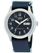 Mens Lorus Watch RXN65AX9 With Blue Dial Material