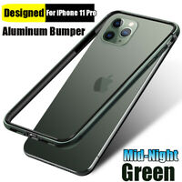 Luxury Aluminum Metal Rugged Lining Bumper Case Cover for iPhone 11 Pro Max 2019