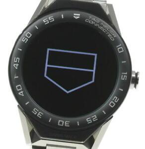 TAG HEUER Connected SBF8A8001 Digital Dial Quartz Men's Watch_591000