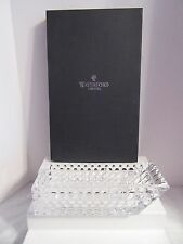 Waterford Kylie Cantilever Lay Down Crystal Vase  by Jeff Leatham NIB 55% OFF