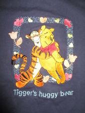 Vtg Disney POOH Label - WINNIE THE POOH and TIGGER's Huggy Bear (LG) T-Shirt
