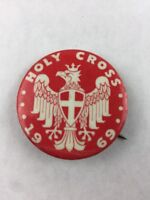Vintage Holy Cross 1969 Pinback Button 1.5 inch
