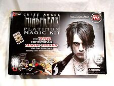 2009 Chris Angel Mind Freak Platinum Magic Kit-Original box