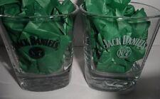 Jack Daniel's Rocks Glases Pair Square Old No 7 NEW Whiskey 8 OZ