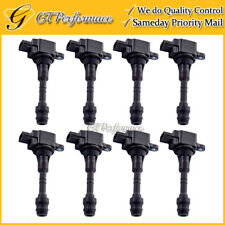 OEM Quality Ignition Coil 8PCS Pack for 04-07 Armada Titan/ QX56 5.6L V8