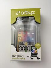 Orbyx HTC Wildfire S flexi skin case and earphones set
