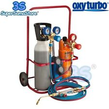 3S TURBO SET SUPER MINI 5 LT OXYTURBO SET STAZIONE SALDATURA OSSIGENO PROPANO