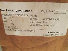 "CASH 1/2"" PRESSURE REDUCING VALVE FOR WATER&AIR 20299-0015"