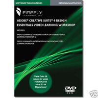 Adobe Creative Suite 4 Training DVD Indesign Photoshop