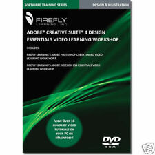Adobe Creative Suite 4 Training DVD Indesign Photoshop