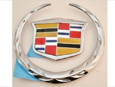 Cadillac CTS 2008 2009 2010 2011 Rear WREATH & CREST Emblem!!