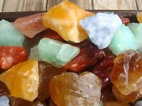 2000 Carat Lots of Natural Calcite Rough + A very nice FREE faceted Gemstone