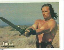 Arnold Schwarzenegger Conan The Barbarian Bodybuilding Photo Color