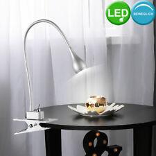 LED Diseño Esribir Mesa Pinza Focos,Lámpara Plata Flexo Foco Oficina Iluminación