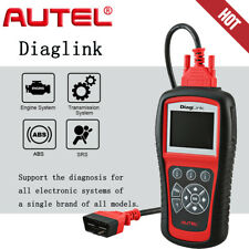 Autel DiagLink OBDII Diagnoses Reader A Single Brand of All Models ABS SRS EPB