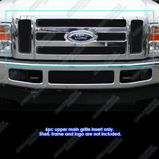 Fits 08-10 Ford F-250/F-350 Super Duty Black Mesh Grille