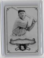 ROGER HORNSBY 2006 SP LEGENDARY CUTS #1/1 MASTERPIECE PRINTING PLATE