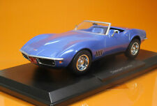 Norev 189035 Chevrolet Corvette 1969 Blue Metallic Scale 1/18