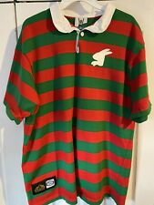 RARE SOUTH SYDNEY RABBITOHS NRL ISC 1908-2008 CENTENARY RUGBY JERSEY SIZE XL.