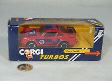 """Corgi Toys C139/4 PORSCHE 911 """"Denver""""  Near Mint/boite"""