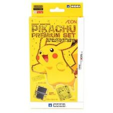 Nintendo 3DS LL XL Pikachu Premium Accessory Set Case Cover Japan Hori F/S