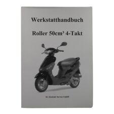 Werkstatthandbuch Roller 4 139QMB 50ccm 4Takt Reparaturhandbuch, Servicehandbuch