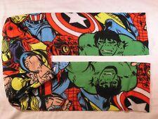 Marvel Characters Fleece Scarf no fringe