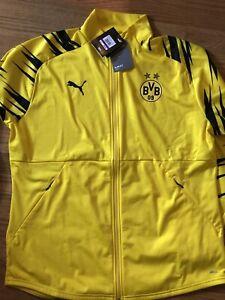 Puma Borussia Dortmund Stadium 20/21 Home BVB Football Jacket 75813701 XXL